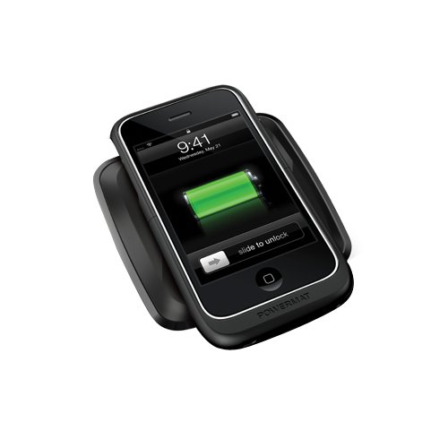Iphone 3g Power Case (Powermat One-Position Mat with iPhone 3G/3GS Hard Case)