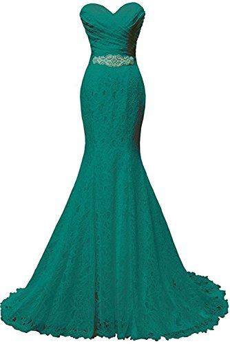 Ivydressing - Vestido - para mujer Dunkelgruen