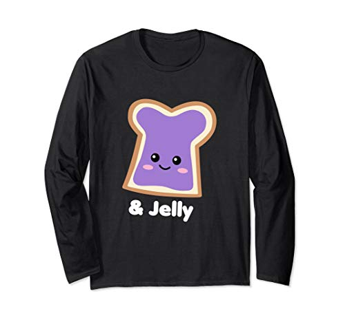 Peanut Butter Girl Jelly Halloween Group Costume Long Sleeve