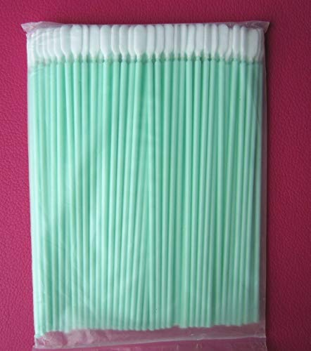 Printer Parts 100 pcs Long Polyester Darcon tip Cleaning swabs - Alternative to Texwipe TX761 Long Alpha Polyester Swab - Tips Polyester Alpha Clean Swab