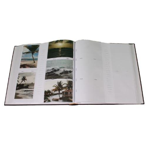 chic Erica - Album square à pochettes pour 500 photos 11.5x15 - Ecru ... 9716d2156221