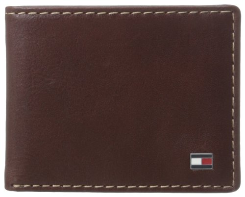 Tommy Hilfiger Leather Passcase Wallet
