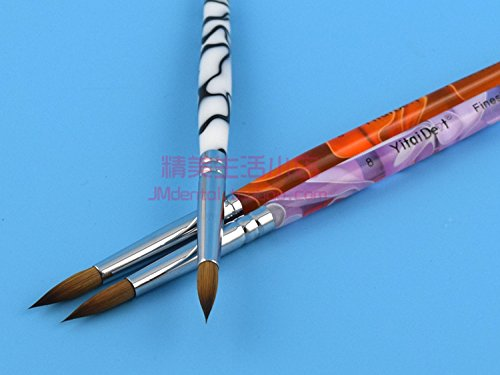 Haodental 5pcs Porcelain Ermine 8# Brush Pen Set Dental Lab Equipment by Haodental (Image #4)