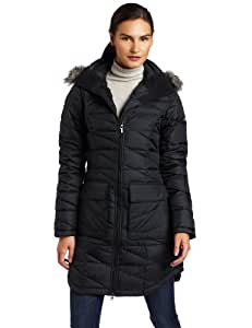 Columbia Women's Down Home Diva Long Jacket, Black, X-Large