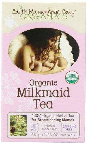 Mama Earth Angel Organic Baby Laitière Thé, 16 sachets / boîte (pack de 3)