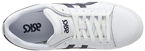 Asics Ns Basses white Mixte court Blanc Sneakers 0150 Adulte navy v4vwArqf