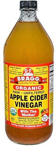 Bragg Usda Organic Raw Apple Cider Vinegar, 32 Fluid Ounce