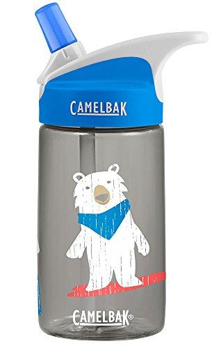 CamelBak Eddy Kids Bro Bears Water Bottle, Black.4L