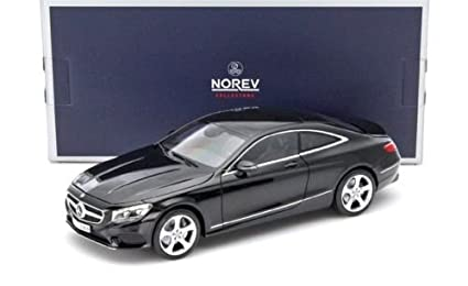 NEW 1:18 W/B NOREV COLLECTION   BLACK 2014 MERCEDES BENZ S