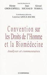 Convention sur les Droits de l'Homme et la Biomédecine : Analyses et commentaires