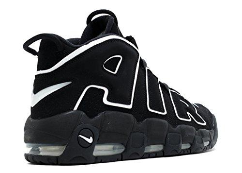 de Uptempo Espadrilles More Noir noir Homme Nike Air Ball Basket Noir Blanc EIqF44
