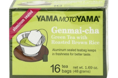 Genmai-cha (Green Tea with Roasted Brown Rice) - 1.69oz [Pack of 3] by Yamamotoyama