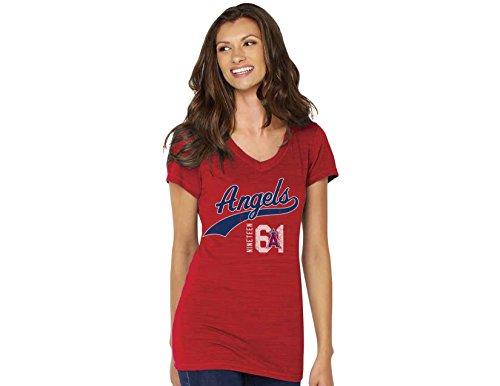 Soft As A Grape MLB womens V-neck – DiZiSports Store