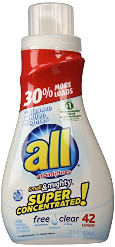 all Stainlifters small & mighty Liquid Detergent - 32 oz - Free - 3x Concentrated Detergent Laundry Liquid