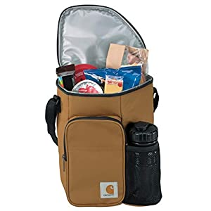 Carhartt Unisex Vertical Lunch Cooler w/Water Bottle