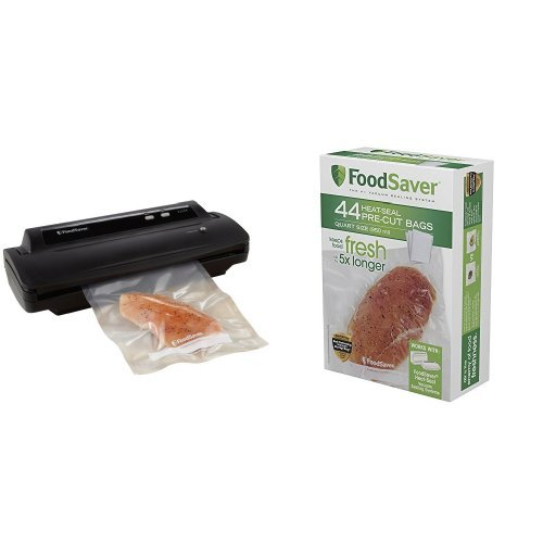 FoodSaver V2244 Vacuum Sealing System with Starter Kit & Foo