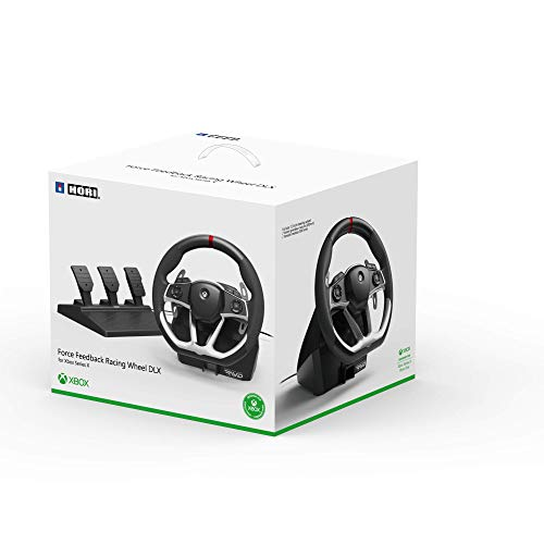 HORI Force Feedback Racing Wheel DLX Designed for Xbox Series X|S - Officially Licensed by means of Microsoft