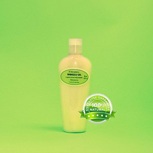 8 Oz Babassu Oil 100% Pure Organic Cold Pressed For Skin Hair Moisturizing