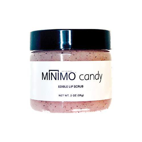 Minimo Bath & Body Candy Gentle Exfoliating Edible Lip Scrub by Minimo Bath & Body