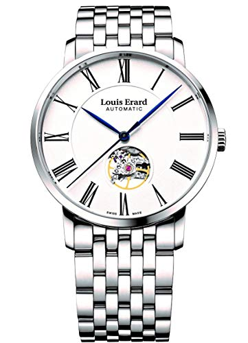 Louis Erard Excellence Open Balance Stainless Steel Men's Watch