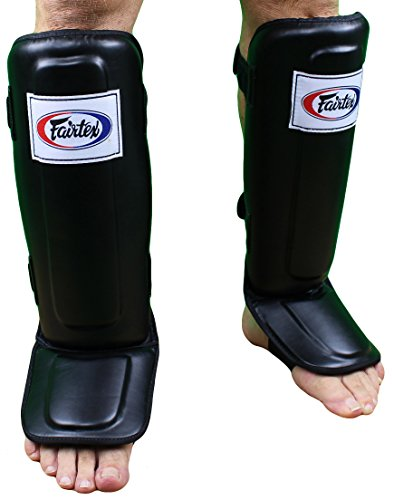 Fairtex Pro Style Shin Guards - Black - Medium