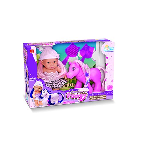 Bonequinha E O Poney Anjo Rosa