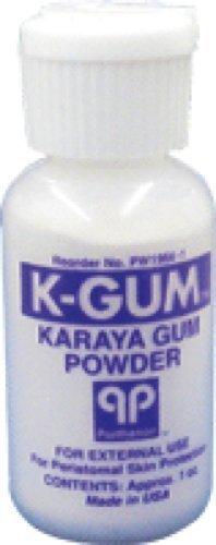 Parthenon K-Gum Karaya Gum Powder 1Oz Bottle (1 ()