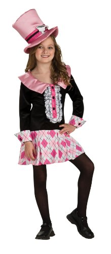 [Rubies Mad Tea Party Alice Costume-M (8-10)] (Mad Tea Party Costume)