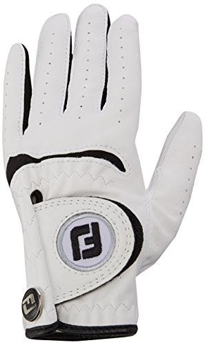 FOOTJOY JUNIOR GOLF GLOVE -JUNIOR -LEFT HAND -ML -WHITE ()
