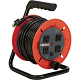 Ironton Manual Wind Cord Reel - 50ft., 14/3, 4 Outlets
