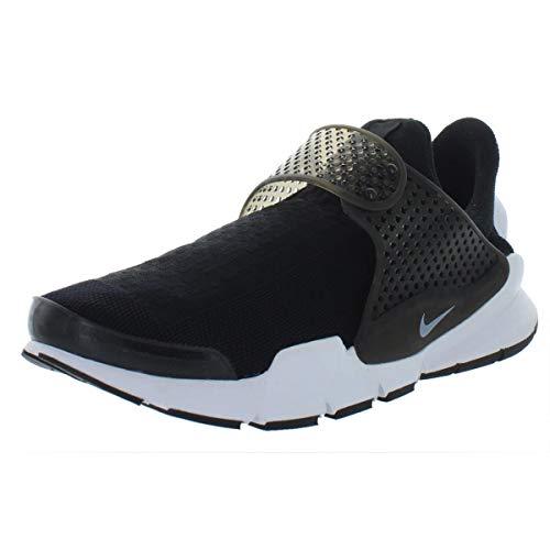 Nike Men's Sock Dart KJCRD Black/White Running Shoe 10 Men ()