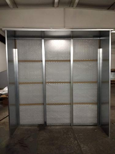8FT Commercial Paint & Powder Spray Exhaust Booth