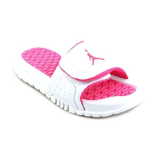 89c41edeb818 Jordan Nike Boys  (GS) Hydro 2 Slides Sandals-Challenge Red White ...