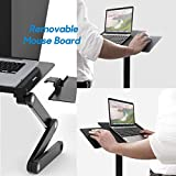HUANUO Adjustable Laptop Stand, Portable Laptop