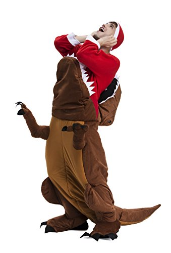 YOU LOOK UGLY TODAY Christmas Party Costumes, Dinosaur Ride Me Adult Carry On Piggy Back Fancy Dress (Costumes Christmas)