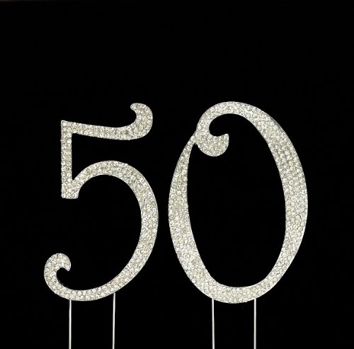 50th Wedding Cake Toppers - 8