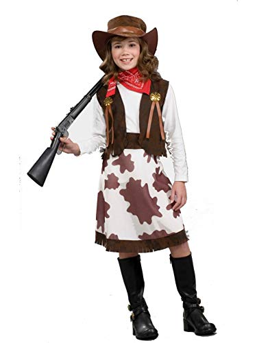 Cowgirl Child Costume, Medium -