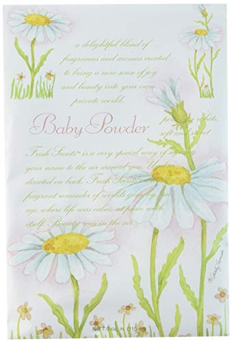 Fresh Scents Scented Sachets - Baby Powder, Lot of 6 (200210)