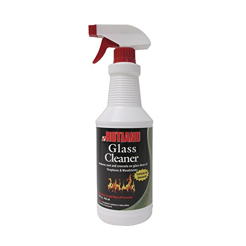 (Rutland Fireplace Glass and Hearth Cleaner)