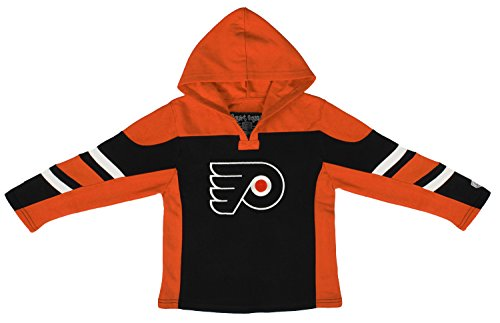 - Old Time Hockey NHL Philadelphia Flyers Toddler Drift Pullover Hoodie, 4T, Black