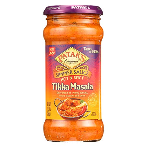 (Pataks Hot and Spicy Tikka Masala Sauce, 12.3 Ounce - 6 per case.)