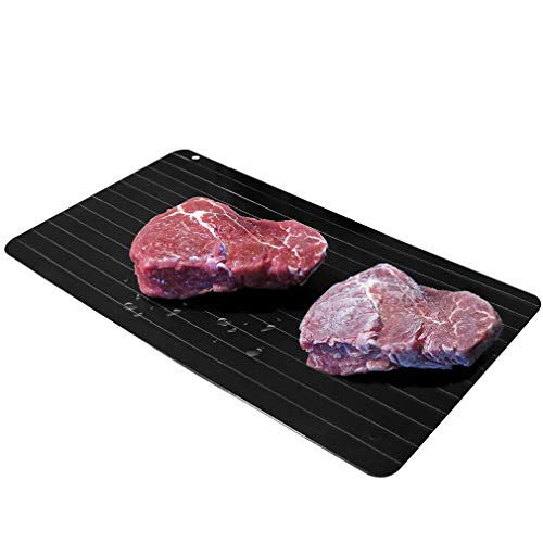 - Evelots New Meat Defrosting Tray-Thaws Food Fast-Large Size-No Electricity