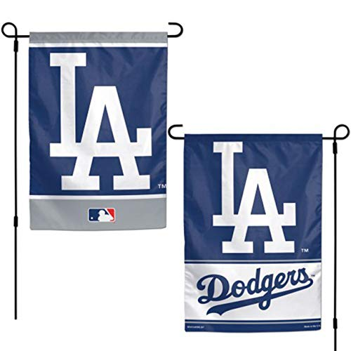 CELYCASY Los Angeles Dodgers Two-Sided House Flag