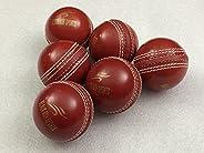 Black Ash PVC Soft Cricket Training Balls | Pack of 6 | 90 GMS