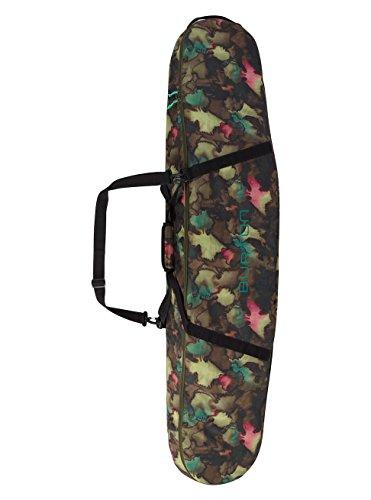 Burton Fiber Snowboard (Burton Space Sack Snowboard Bag, Tea Camo Print, Size 146)
