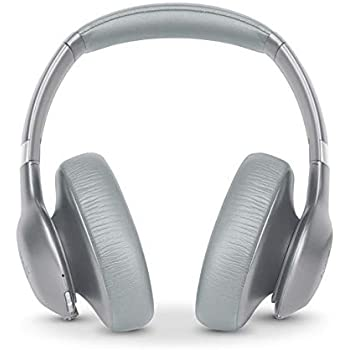 20d6f916f0b JBL Everest 750 Silver Over-Ear Wireless Bluetooth Headphones (Silver)
