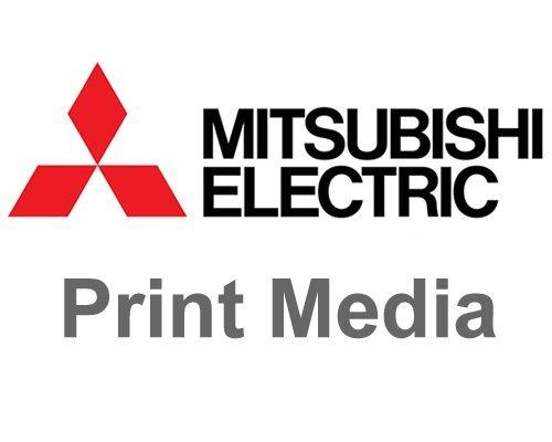 Mitsubishi CK-K76RHG 6'' Paper & Ink Set for CP-K60DW-S Photo Printer, 4x6'' 640 Prints/Roll