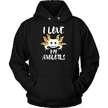 Axolotls Hoodie. Perfect Gift for Your Dad, Mom, Boyfriend, Girlfriend, or Friend