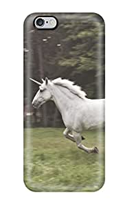 New Style 2047432K306412441 unicorn horse magical animal Anime Pop Culture Hard Plastic iPhone 6 Plus cases