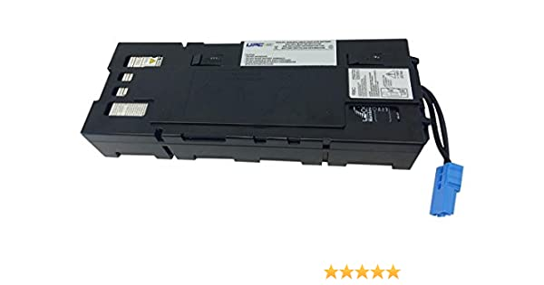 Compatible Replacement by UPSBatteryCenter New Battery Pack for APC Smart-UPS X 1500VA LCD 120V SMX1500RMUS SMX1500RMUS